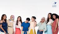 Dove melalui kampanye #CantikSatukanKita ingin membuat wanita Indonesia mencintai versi cantik yang beragam. Sumber foto: PR.