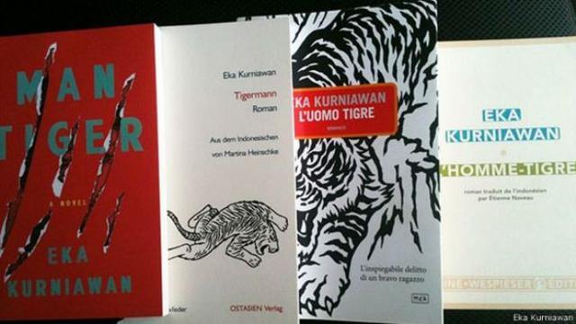 Novel-novel Eka Kurniawan telah diterjemahkan dalam berbagai bahasa