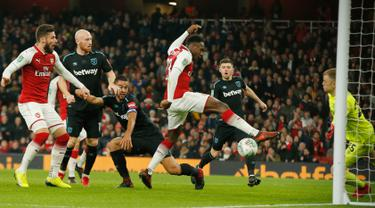 Arsenal Pesta Gol Lawan West Ham
