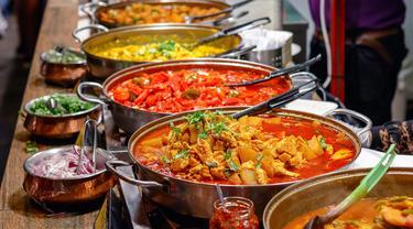 Ilustrasi Makanan Pedas, Masakan Pedas, Makanan, Masakan (iStockphoto)
