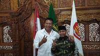 Calon Gubernur Jawa Barat TB Hasanuddin didukung GP Ansor (Liputan6.com/Huyogo Simbolon)