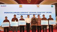 Bank BRI sukseskan peluncuran KUR khusus peternakan rakyat. (foto: dok. BRI)