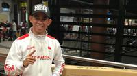 Pebalap Astra Honda Racing Team, Gerry Salim, akan turun pada ajang FIM CEV Moto3 Junior World Championship 2018. (Instragram / Astra Honda Racing Team)