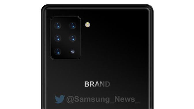 Sony dikabarkan sedang mengembangkan smartphone dengan enam kamera belakang. (Doc: @Samsung_News_/ Phone Arena)