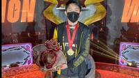 CJ Ribo menjadi pemain yang disebut-sebut layak mendapat sematan gelar GOAT.  (FOTO / Facebook CJ Ribo)