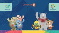 Banner Peringkat Indonesia Meroket di Asian Games 2018 (Liputan6.com/Abdillah)