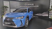Mobil Listrik Pertama Lexus UX 300e (Arief A/Liputan6.com)