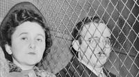 Julius dan Ethel Rosenberg. Pengkhiatan kalangan intelijen pada masa Perang Dingin disebabkan antara lain oleh kerakusan, ideologi, ataupun dendam. (Sumber thevintagenews.com)