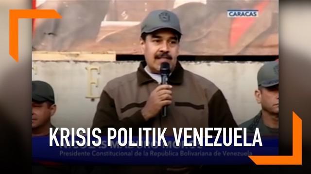 Presiden Venezuela Nicolas Maduro membantah adanya dugaan militer negaranya mendukung gerakan kudeta.