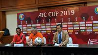 Ivan Kolev dalam konferensi pers menjelang lada Persija versus Becamex Binh Duong di Piala AFC 2019, Senin (25/2/2019) di Hotel Sultan, Jakarta. (Bola.net/Fitri Apriani)