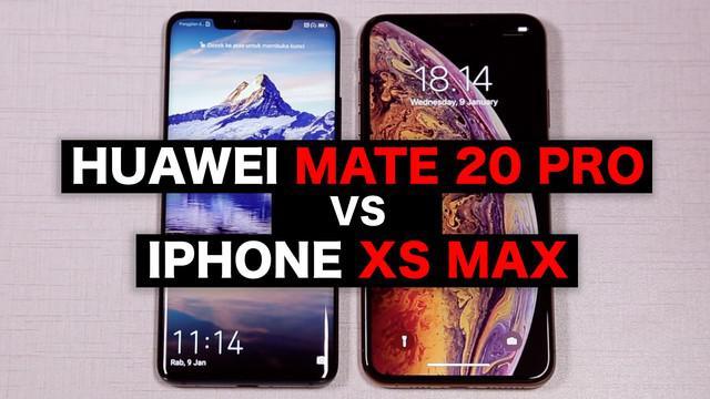 Huawei Mate 20 Pro dengan beragam keunggulannya kerap dibandingkan dengan pesaing di kelasnya, iPhone XS Max. Mana yang lebih unggul?