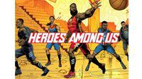 """Logo """"Heroes Among Us"""" yang akan rilis pada 26 April 2019 (Sumber: Adidas)"""