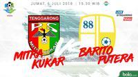 Liga 1 2018 Mitra Kukar Vs Barito Putera (Bola.com/Adreanus Titus)