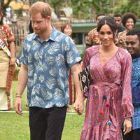 Pangeran Harry dan Meghan Markle (Foto: AFP / PETER PARKS)