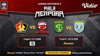 Pertandingan lengakap Piala Menpora 2021 dapat disaksikan melalui platform streaming Vidio. (Dok. Vidio)