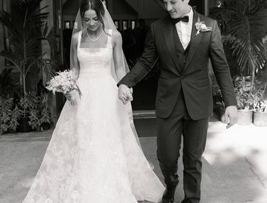 FOTO: Romantisnya Pernikahan Miles Teller dengan Model Keleigh Sperry.