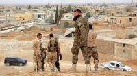 Tentara Iran di Suriah (AFP/George Ourfalian)