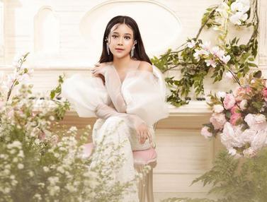 FOTO: Gaya Pemotretan Brisia Jodie Dengan Gaun Putih, Tampil Bak Putri Dongeng