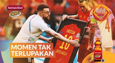 Berita video Bola Break episode 1 mengangkat tema beragam momen yang tak terlupakan di Euro 2020, termasuk insiden yang menimpa Christian Eriksen.
