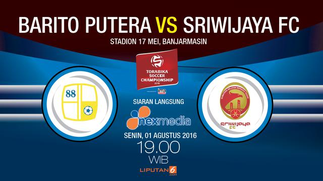 Barito Putera Menjamu Sriwijaya Fc Di Stadion  Mei Banjarmasin Senin  Malam Wib Liputan Com Banjarmasi
