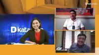 Webinar 274 Tahun PT Pos Indonesia: How Digital Are You? yang diselenggarakan Katadata, Rabu (9/9/2020).