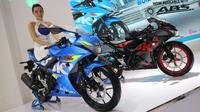 Suzuki GSX-R150 dilengkapi fitur ABS (Herdi/Liputan6.com)