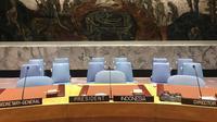 Ilustrasi ruang sidang DK PBB. (Dok: Kemlu RI)