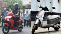 Motor listrik Gesits vs Viar Q1 (ist)