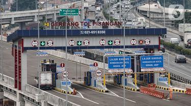 Gerbang Tol Pisangan Penghubung Tol Becakayu-Tol Wiyoto Wiyono Resmi Beroperasi