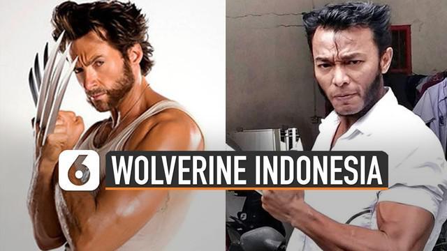 Beberapa hari ini media sosial diramaikan foto-foto seorang pria yang mirip Wolverine. Mulai dari bentuk tubuh, gaya rambut, brewok, sampai ekspresinya begitu mirip karakter X-men itu.