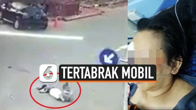 Seorang wanita di Batam, tertabrak mobil SUV saat tengah asik sedang berjogging. Korban langsung dibawa ke rumah sakit dalam kondisi kritis.