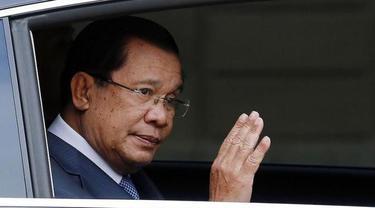 Perdana Menteri  Kamboja, Hun Sen. (AP)