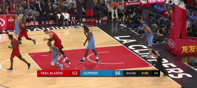 Berita video game recap NBA 2017-2018 antara Portland Trail Blazers melawan LA Clippers dengan skor 122-109.