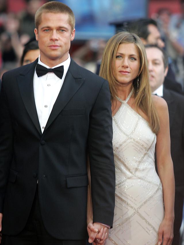 Aktor Brad Pitt dan Jennifer Aniston
