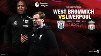 Prediksi West Bromwich Vs  Liverpool (Liputan6.com/Trie yas)