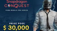 Turnamen Snapdragon ConQuest PUBG Mobile (Foto: Qualcomm Technologies).