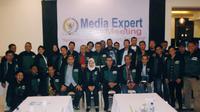 Media Expert Meeting yang berlangsung di Gili Trawangan, Lombok, Nusa Tenggara Barat (NTB).