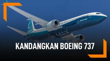 Deretan Negara Ini Kandangkan Boeing 737 MAX 8