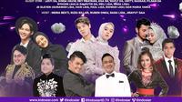 Konser Romantis digelar Indosiar live, Senin (28/12/2020) pukul 20.00 WIB