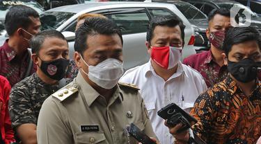 Riza Patria tiba di Polda Metro Jaya