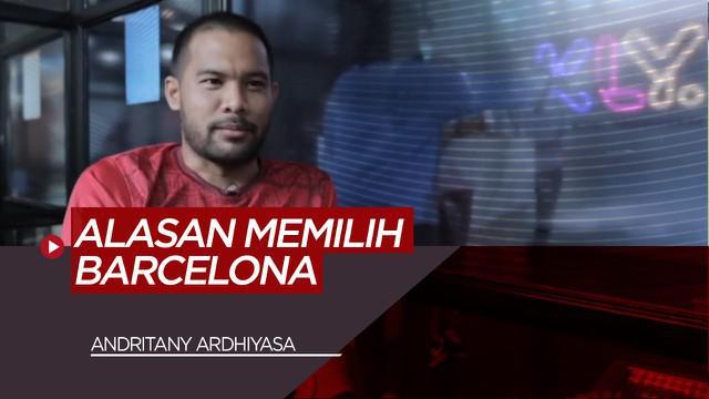 Berita Video Ngobrol Bareng Kiper Persija Jakarta, Andritany Ardhiyasa Soal Alasan Memilih Barcelona dan Cerita Resiko Kalah Bermain Game di Timnas Indonesia