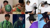 6 Cosplay Low Budget Jadi Karakter di Drama Korea Ini Kocak (sumber: Instagram/lowcostcosplayth)