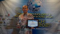 Inovasi layanan digital masa pandemi COVID-19 mengantarkan BPJS Kesehatan terima penghargaan Digital Technology & Innovation Award 2021 di Jakarta pada Rabu, 31 Maret 2021. (Dok BPJS Kesehatan RI)