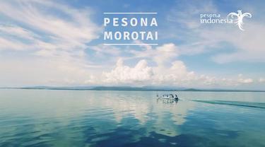 Morotai tak hanya memiliki pantai dan pasir yang lembut, tapi juga punya pemandangan bawah laut yang unik.