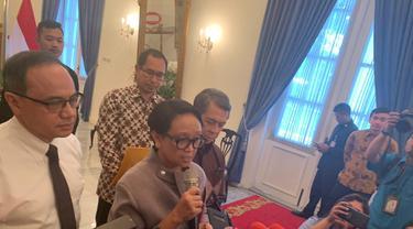 Menteri Luar Negeri Indonesia, Retno Marsudi.