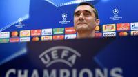 Ernesto Valverde akui AS Roma adalah lawan yang sulit untuk Barcelona. (doc. UEFA)