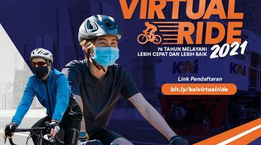 PT Kereta Api Indonesia (Persero) mengadakan KAI Virtual Ride 2021