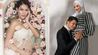 Potret Maternity Shoot 7 Seleb Tanah Air Saat Hamil Anak Pertama. (Sumber: Instagram/bungajelitha dan Instagram/zaskiasungkar)