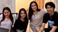 Potret keakraban Naura Ayu dan keluarga Devano Danendra, termasuk Iis Dahlia. (Sumber: Instagram/@isdadahlia)