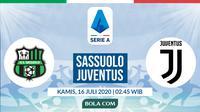 Serie A: Sassuolo vs Juventus. (Bola.com/Dody Iryawan)